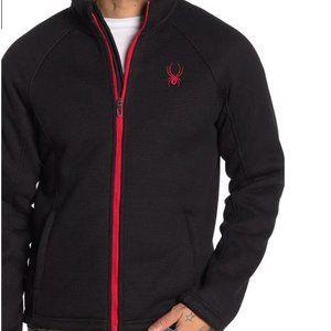 SPYDER Steller Full-Zip Black Lined Jacket Small